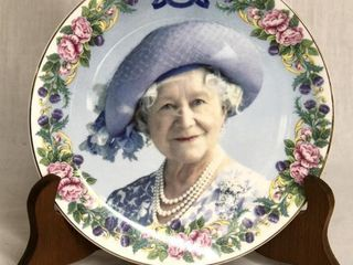 Decorative Queen Mother 8  plate