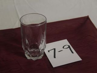 Toughened Glass water glasses  to match lots 1 5