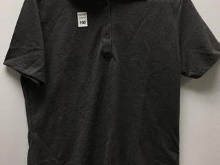 HANES MEN S POlO SHIRT SIZE lARGE