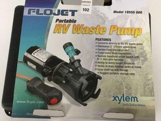 FlOWJET PORTABlE RV WASTE PUMP