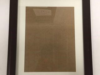 OXFORD WOOD DOCUMENT FRAME SIZE 11  X 14