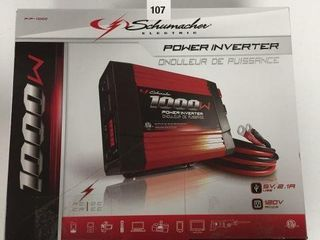 SCHUMACHER POWER INVERTER
