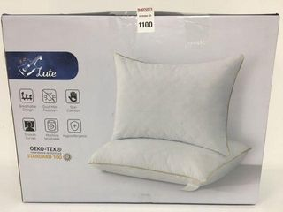 lUTE OEKO TEX STANDARD 100 2PC PIllOW