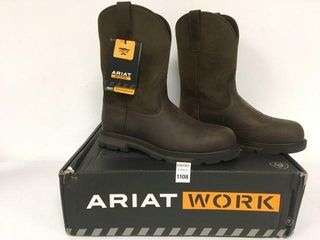 ARIAT WORK MEN S STEElTOE BOOT SIZE 10