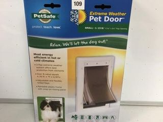 PETSAFE PET DOOR SIZE SMAll 1 15lB