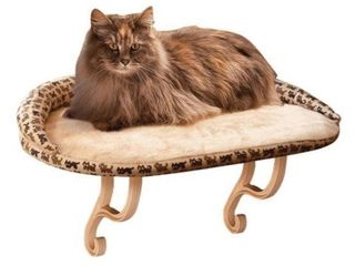 K H PET PRODUCTS DElUXE KITTY SIll WITH BOlSTER