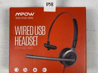 MPOW WIRED USB HEADSET
