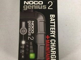 NOCO GENIUS BATTERY CHARGER  MAINTAINER