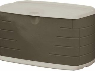 RUBBERMAID 73 GAl DECK BOX WITH SEAT SIZE MEDIUM