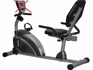 EXERPElITIC RECUMBENT BIKE  MISSING SCREEN