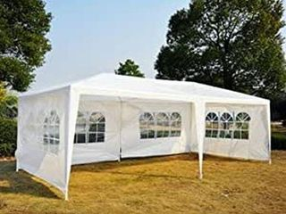 OUTSUNNY PARTY GAZEBO TENT SIZE 10 X 20 FEET