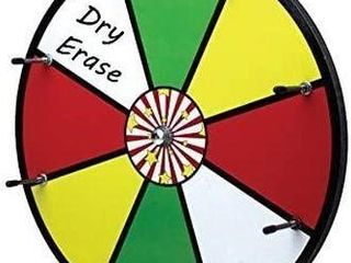 16  SPINNING DRY ERASE STYlE WHEEl OF