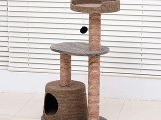 PAWHUT D30 071 SCRATCHING CAT TREE POST