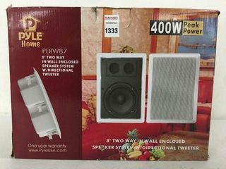 PYlE HOME IN WAll ENClOSED SPEAKER SYSTEM