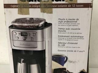 CUISINART COFFEEMAKER BURR GRIND AND BREW