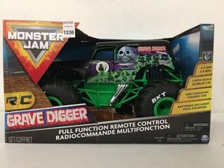 MONSTER JAM TRUCK MASTER TOY FUll FUNCTION