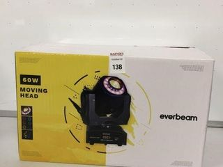 EVERBEAM 60W MOVING HEAD