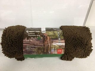 MUDDY PAWS TOWEl   SHAMMY RUG SIZE 60   X 30