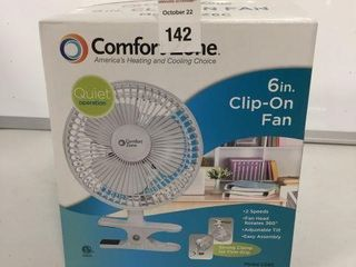 COMFORT ZONE 6  ClIP ON FAN