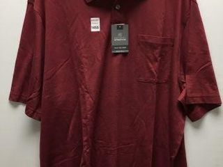 VAN HEUSEN MEN S lONG SlEEVE POlO SIZE 2XlT