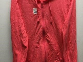 HANES WOMEN ZIP UP HOODIE SIZE MEDIUM