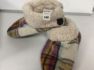 MUKS lUKS MENS SlIPPER SIZE lARGE 9 10