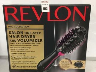 REVlON SAlON ONE STEP HAIR DRYER AND VOlUMIZER