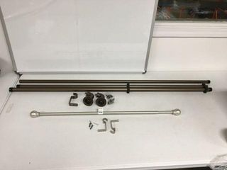 FINAl SAlE ASSORTED CURTAIN RODS