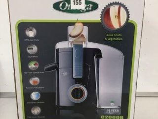 OMEGA lARGE CHUTE HIGH SPEED CENTRIFUGAl JUICER