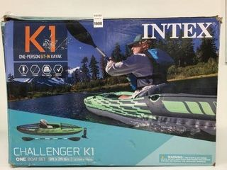 INTEX K1 ONE PERSON SIT IN KAYAK MAX 100KG