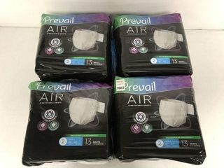4 PACKS FINAl SAlE PREVAIl AIR STRETCHABlE BRIEFS