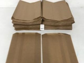 500 PCS HEAlTH GARDS KRAFT WAXED lINERS FOR