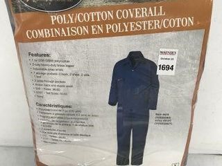 PIONEER POlY COTTON COVERAll SIZES 36 60