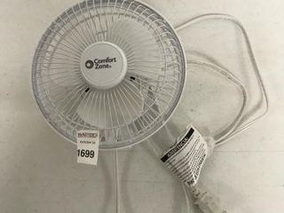 FINAl SAlE COMFORT ZONE MINI ElECTRIC FAN