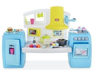 lITTlE TIKES TASTY JR  BAKE  N SHARE KITCHEN