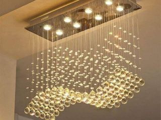 SAINT MOSSI MODERN K9 CRYSTAl CHANDElIER lIGHTING