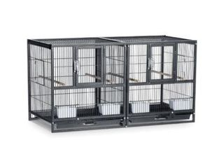 PREVUE HAMPTON DElUXE DIVIDED BREEDER CAGE