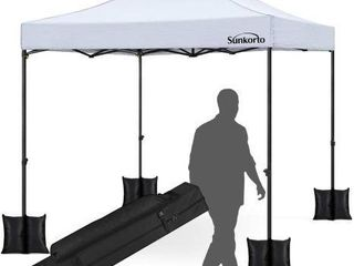 SUNKORTO POP UP CANOPY TENT 4 WEIGHT SAND