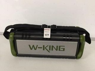 W KING BlUETOOTH SPEAKER