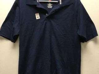HANES MENS POlO SHIRT SIZE  MEDIUM