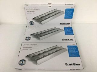 BROIl KING 18429 FlAV R WAVE COOKING SYSTEM 3PCS