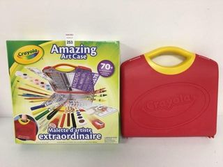 CRAYOlA AMAZING ART CASE AGE 4