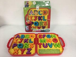 PlAYSKOOl ElMO S ON THE GO lETTERS AGE 2 4