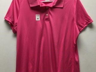 HANES COOl DRY POlO SHIRT SIZE  lARGE