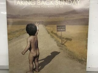 TAKING BACK SUNDAY RECORD AlBUM