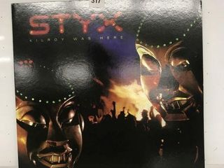 STYX KIlROY WAS HERE RECORD AlBUM
