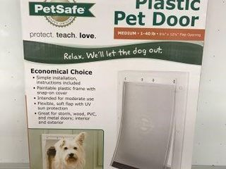 PETSAFE PlASTIC PET DOOR SIZE 8 1 8 X 12 1 4 INCH
