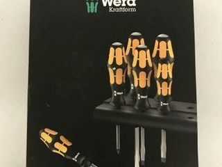 6 PCS WERA KRAFTFORM PROFESSIONAl SCREWDRIVER SET