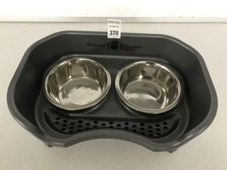 NEATER FEEDER PET BOWlS SIZE 13 X 8 INCH
