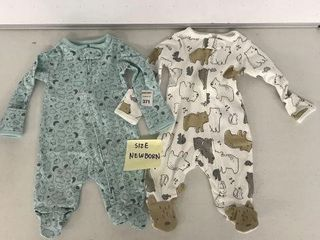 2 PCS SIMPlE JOYS BY CARTER S BABY ONESIE